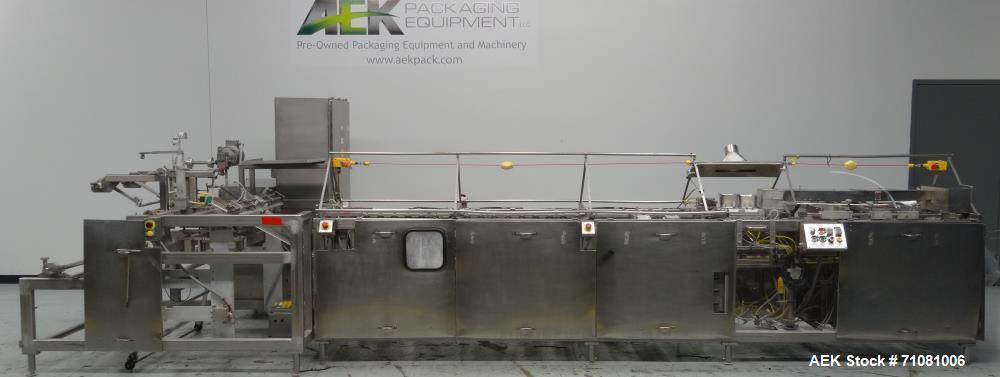 Used- Bodolay-Pratt Model L-80 Horizontal Form Fill and Seal Machine