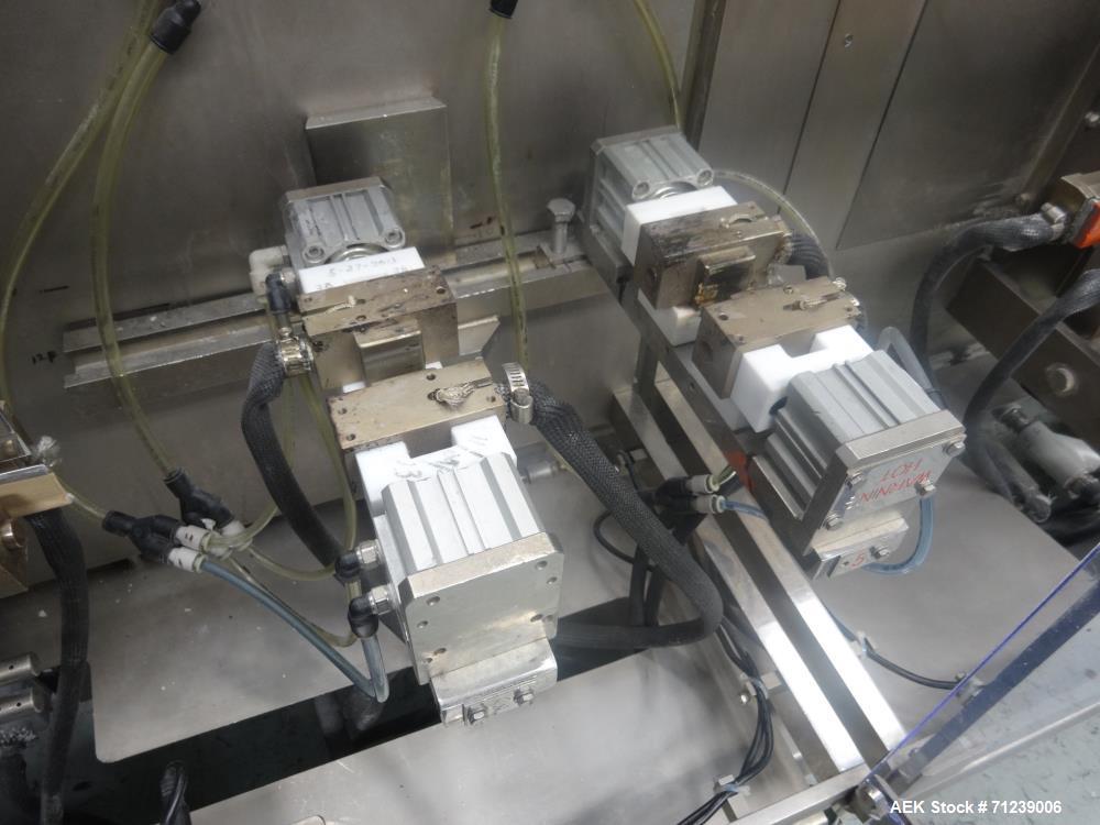 Used- Bossar Model B-3700/DXL-ZC Horizontal Form, Fill and Seal Machine