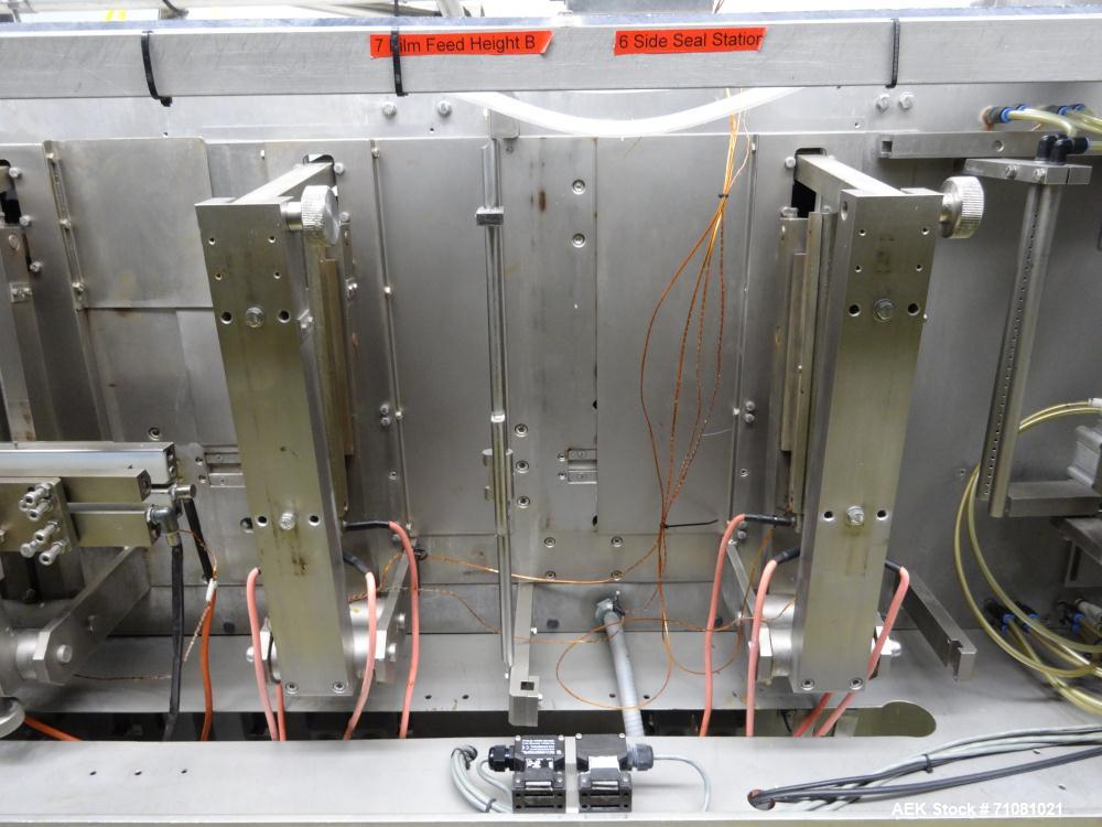 "Used-Bossar Model B3700D2E, Horizontal Pouch Form fill seal,  Allen-Bradley controls, produces horizontal pouches from 5"" x ..."