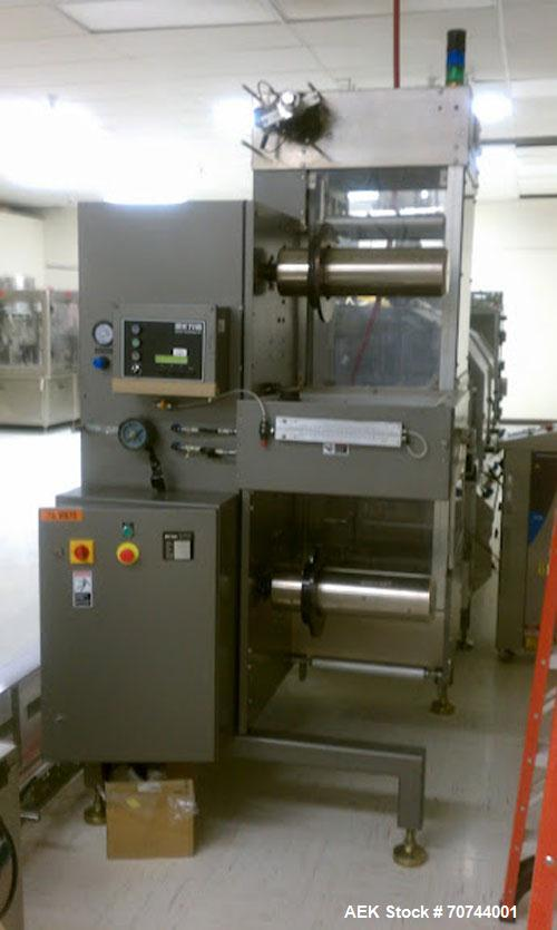 """Used-Cloud 2-1/2"""" Pitch ServOriginal High Speed Pouch Machine. 2500 Pouches per minute, set up on 2 1/2"""" centers and include..."""
