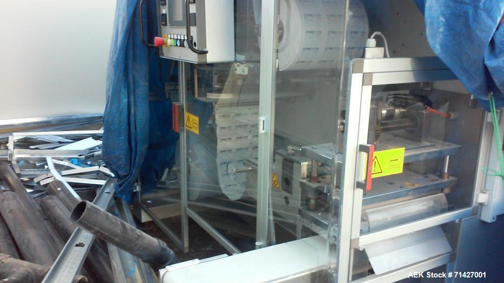 Used - Easysnap Packaging Machine, Model BB3. Monodose sachet machine can handle liquid or semi-dense products. Speed up to ...