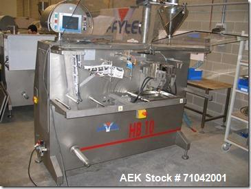 Used-Effytec Model HB-10 Simplex Horizontal Pouch Machine