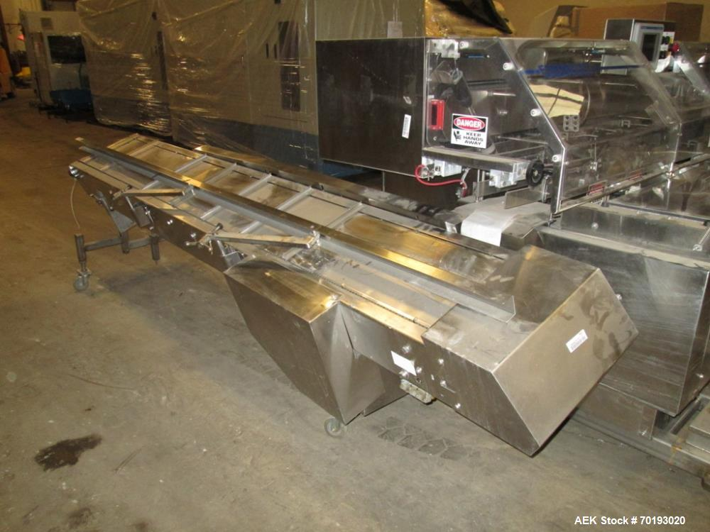 "Used- Formost GTS-4 Stainless Steel Bagger, Model GTS-4 LH. 86"" Frame. Stainless steel construction. Rotary bag feed. 15' fr..."