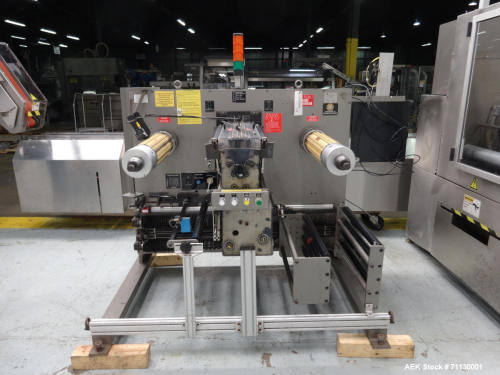 Used- Jones Model PK2000 Stand Up Pouch King, 44-Station High-Speed Bagger