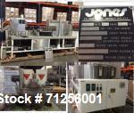 Used- Jones Pouch King, Model LC, Horizontal Form Fill Seal Pouch Machine. Capable fo speeds up to 600 pouches per minute. C...