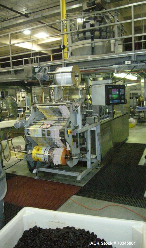"""Used-Used: Klockner Bartelt RPM 100 """"Doy"""" Pack Horizontal preform pouch machine capable of speeds up to 100 PPM. Has a pouch..."""