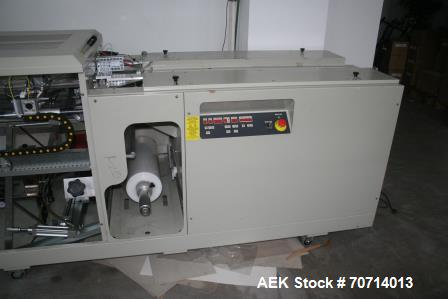 Used- Minipack Thermoformer Torre Continua 60. Speeds up to 60 cycles/min. Capacity 3000 pieces/hour. Maximum product height...