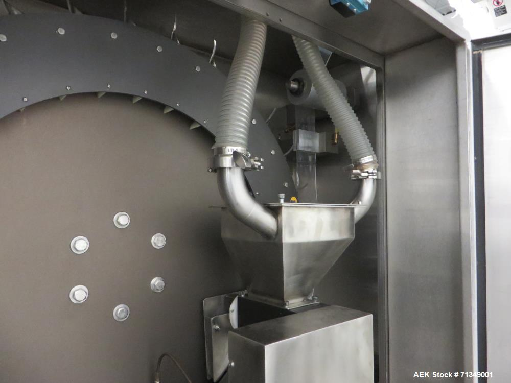 Used- Ropak High Speed Rotary Pouch Machine with Volumetric Product Feeder