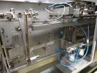 Used-Bossar Model B3700D2E, Horizontal Pouch Form fill seal,  Allen-Bradley controls, produces horizontal pouches from 5