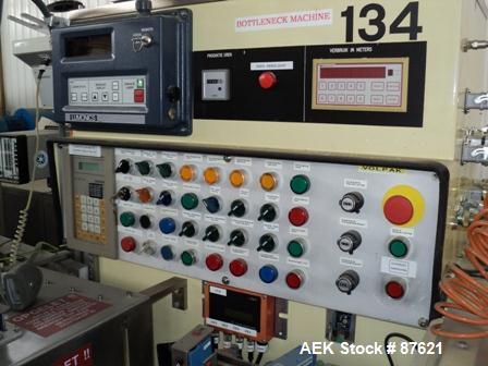 Used- Volpak Horizontal Pouch Machine, Type S-140 Duplex
