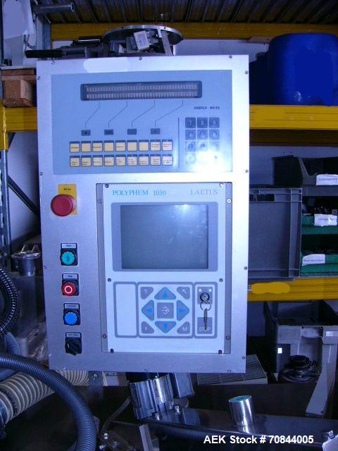 Used-Bosch Servac 130 Blister Machine for tablets, dragees and capsules