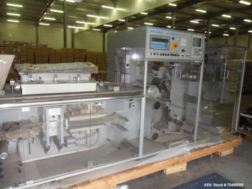 Used-Famar BCL 15 Blister Packer and GUK FA21 4 Cartanac 91 Cartoner
