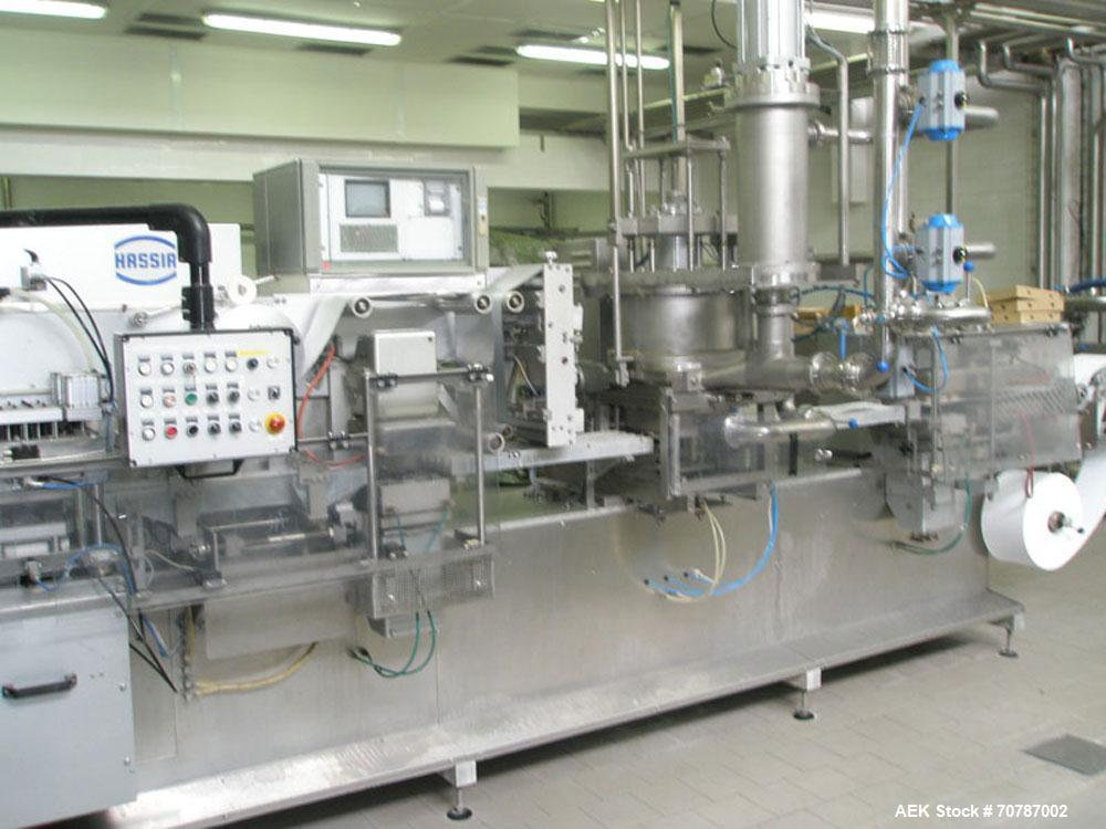 Used-Hassie THL 22/28 Form Fill and Seal Machine