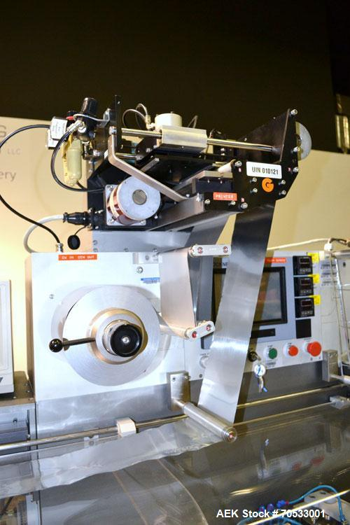 Used- Klockner Medipak Model CP-2 EEL Blisterpack Machine. Capable of speeds from 20 to 60 cycles per minute. Max base film ...