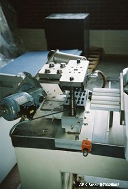 Used-Klockner Model CP2 Lab Scale Blisterpacking Machine. Horizontal thermoformer has electrics: 240/420 volt, 50 hz, 3 ph. ...
