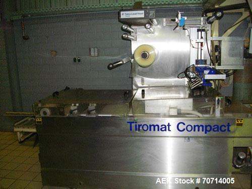 Used-Kremer and Grebe Triomat Compact 420/2 Blister Packaging Machine