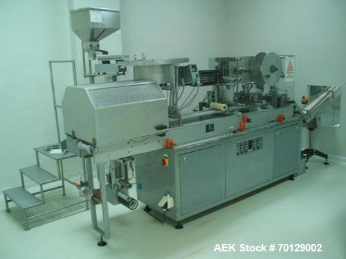 Used-Noack DPN 760/PromaticBlister Packaging Line, Stainless Steel. Air consumption 53 gallons per minute (200 liters/minute...