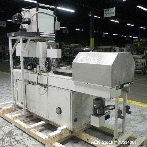 Used- Noack Model DPN 760 Blisterpack Thermoformer Machine.Capable of speeds up to 60 cycles per minute. Maximum foil width ...