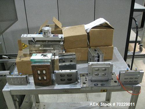 Used-ProPack Model 150/6 Pharmacy Blister Packaging Machine.  Capable of speeds from 6 - 35 indexes per minute.  Forming mat...
