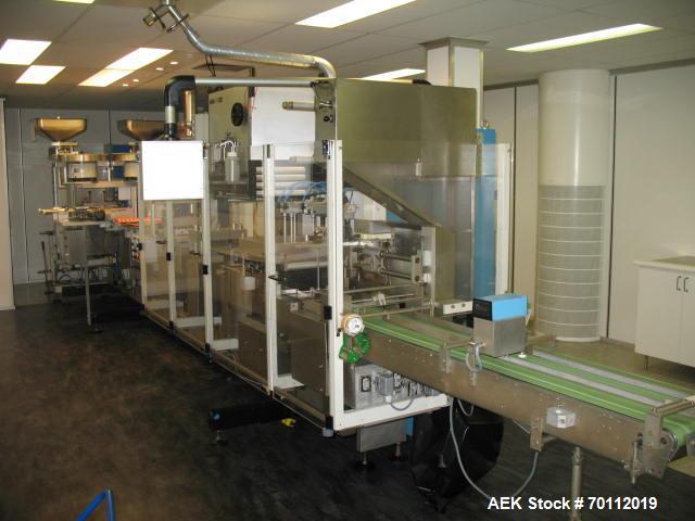 Used- Uhlmann Automatic Blister Packing Machine, Model UPS 2ET.