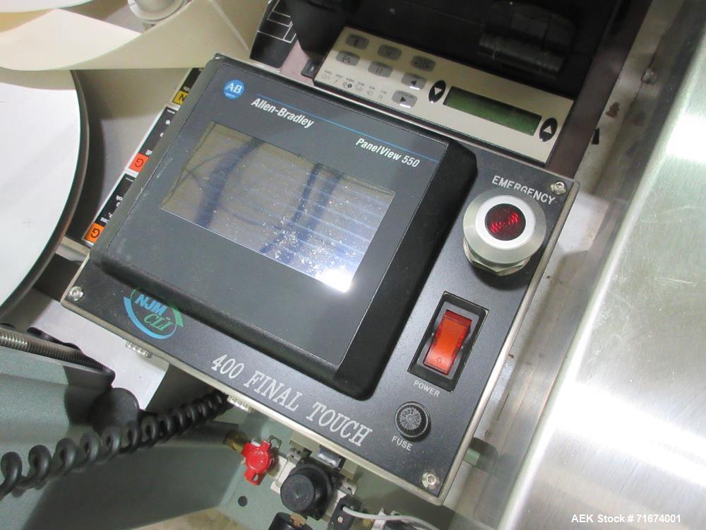 Used- Uhlmann Model UPS 1020 Pharmaceutical Blister Line