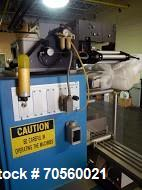 Used- Uhlmann thermoformer blister packaging unit, model UPS300K, serial# 594, new 1994.