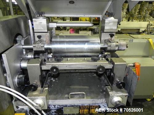 Used- Uhlmann Model UPS4-ET Blister Machine