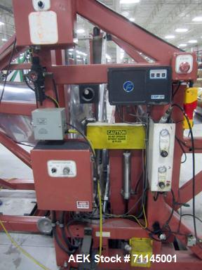 """Used- Prototech 24"""" Stand-Up Pouch Machine, Model 006.  Servo driven, 41"""" wide web, capable of making 24"""" pouch with up to 8..."""
