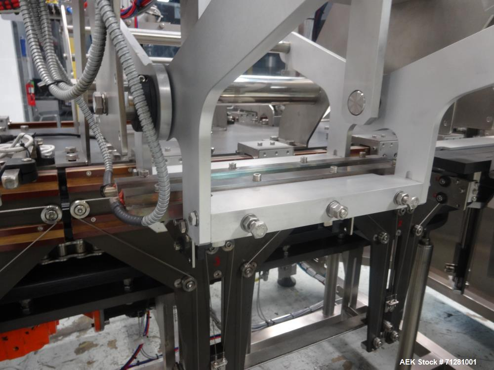 Used- AB Tech Preformed Pouch Packager with Liquid Filler