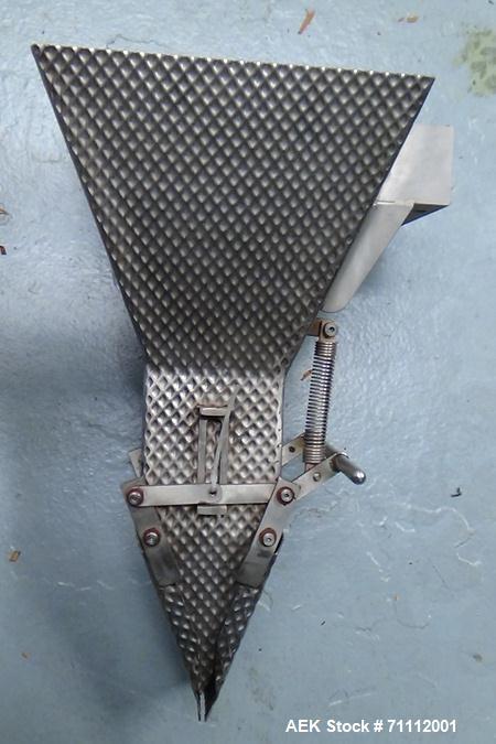 Used- Dura-Pack Jaguar Single Lane Preformed Bag/Pouch Filler and Sealer