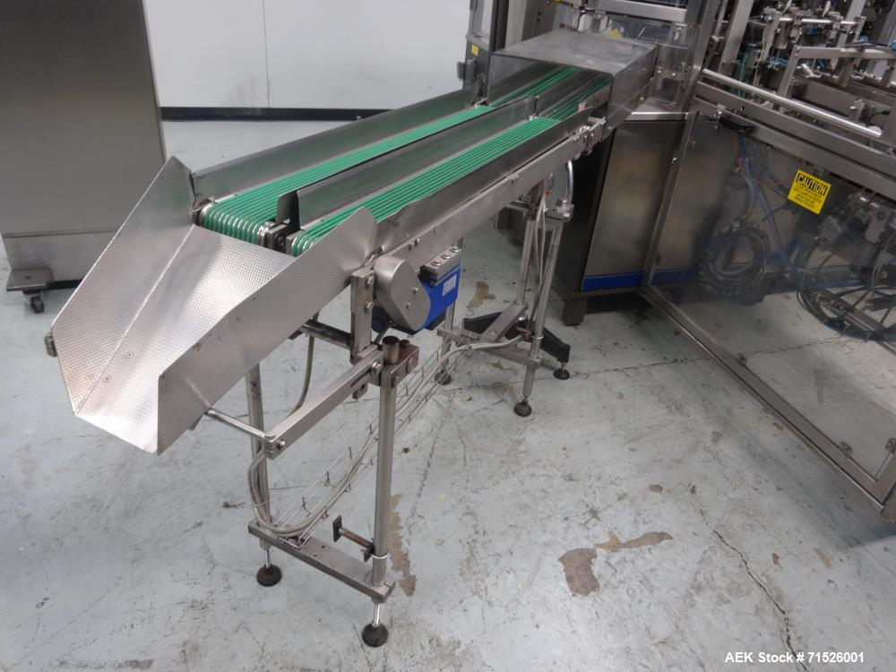 Used- Laudenberg Model PMP20 Duplex Pre-Made Pouch Packager, Model FBM20.