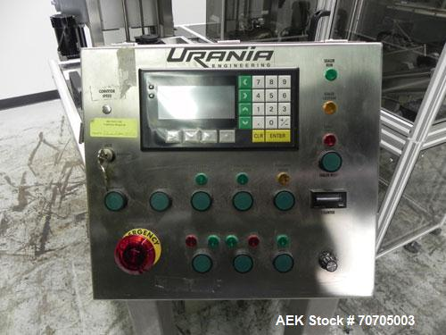 Used- Urania Pouch Pro Model 3500 Validatable Continuous Band Heat Sealer