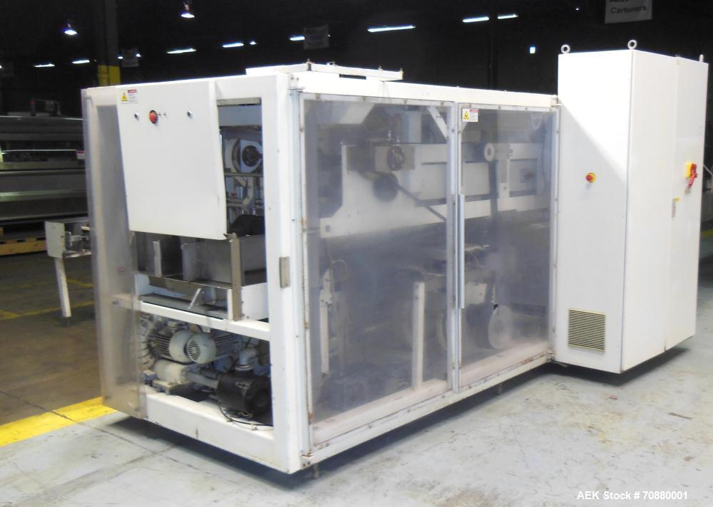 Used- Optima Model LBV3 Pre-Formed Wicketed Bag Opener and Sealer