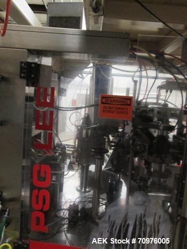 Used-PSG Lee Model RP 8BT Z Premade Pouch Filler/Sealer.