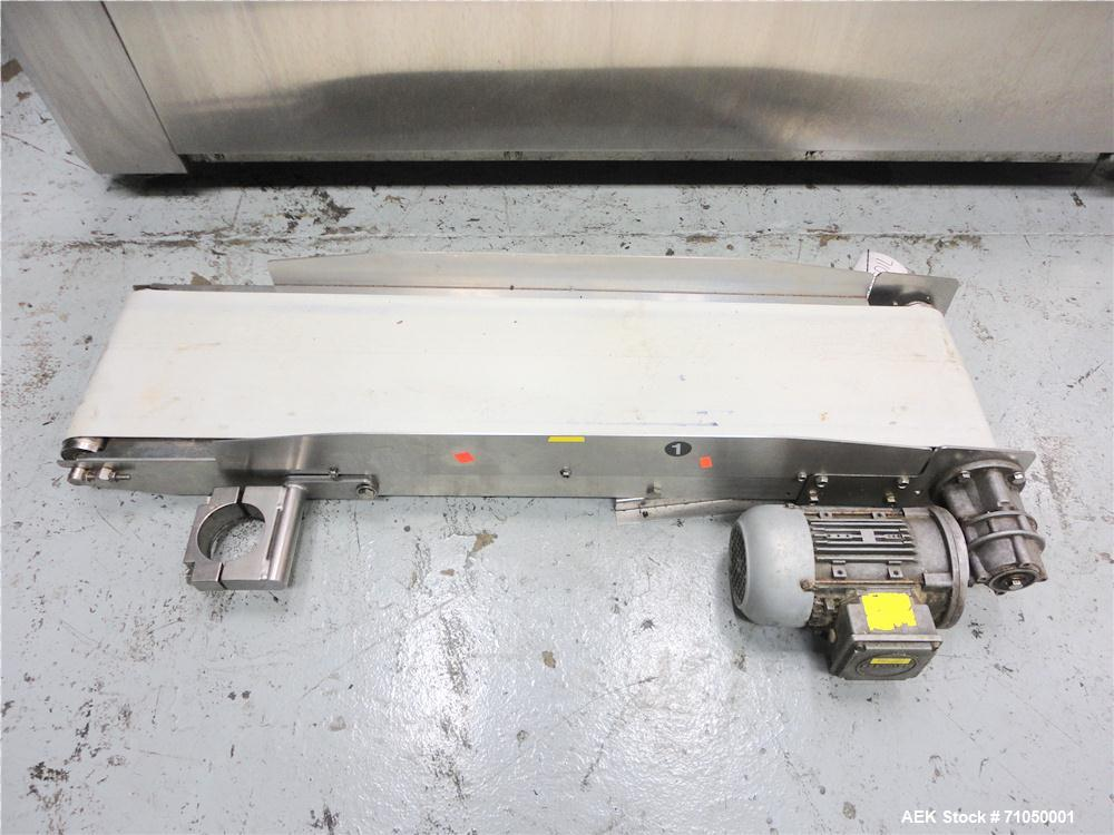 Used-PSG Lee Model RP-8BT-Z Premade Pouch Filler/Sealer. Designed for pouches with gusset stand-up bottom, and with zipper s...