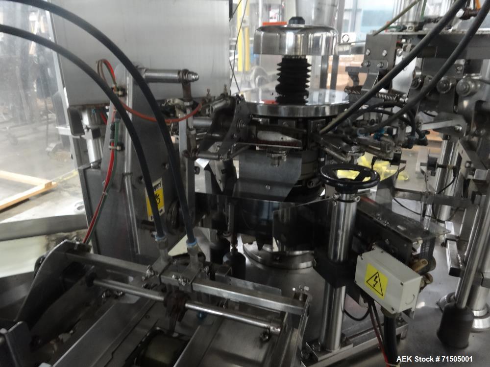 Used- PSG Lee Model RP-8BT-Z Premade Pouch Filler/Sealer