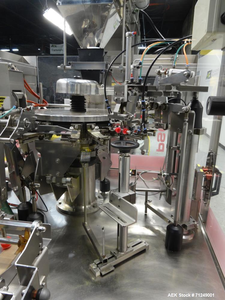 Used- PSG Lee Model RP-8TZ-30-WD Washdown Premade Pouch Filler/Sealer