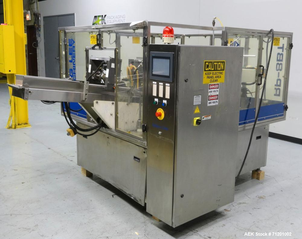 Used- PSG Lee Model RP-8BT Premade Pouch Filler/Sealer