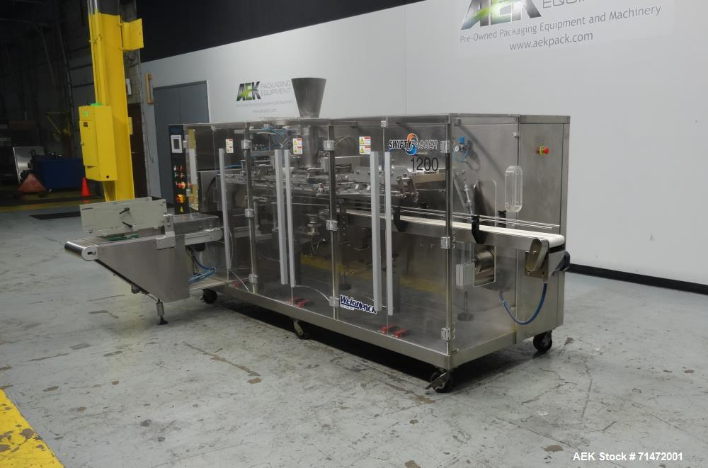 Used- WeighPack Systems Swifty Bagger Model 1200 Preformed Pouch Packager