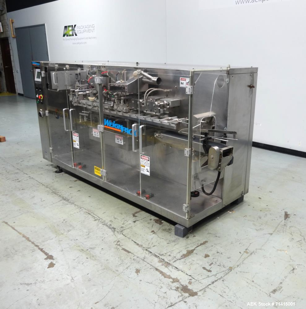 Used- WeighPack Swifty Bagger Model 3600 Preformed Pouch Machine