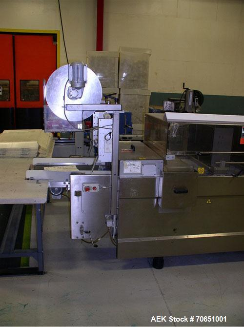 Used-CFS Tiromat Thermoformer, Model 680.  Includes integrated Video Jet Excel 170i transversing encoder, (2) additional sec...