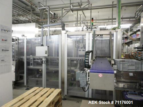 Used-Hassia Thermoforming Line.  THM 16/48 used for cup size 3.5 oz, 4.4 oz (100 g or 125 g), speeds up to 28 strokes/min, 1...