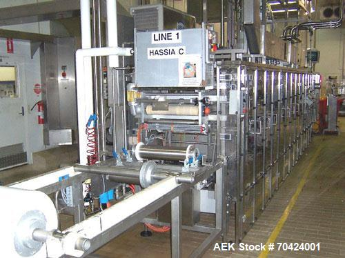 Used-Hassia Model THM 28/48 Aseptic Thermoformer