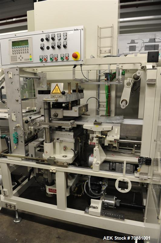 Used-Illig FS 31 Form, Fill and Seal Machine.  (1) Siemens Equipment S7 PLC.  2 Up roll stand for material handling.  Vacuum...