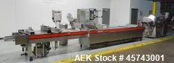 Used- Tiromat 3000/460 Sliced Cheese or Meat Packaging and Slicing Line