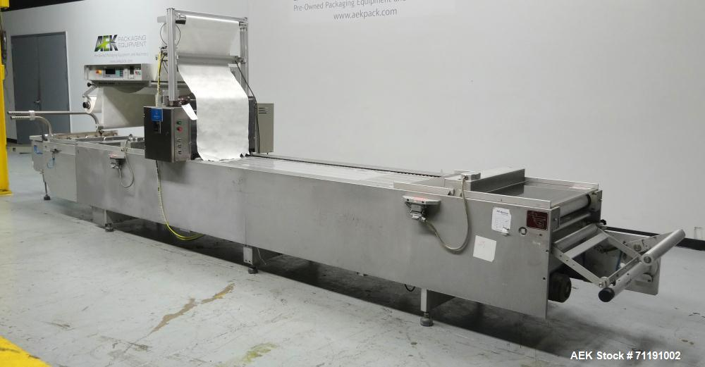 Used- Multivac Model R5200 Roll Stock Thermoform Vacuum Packer