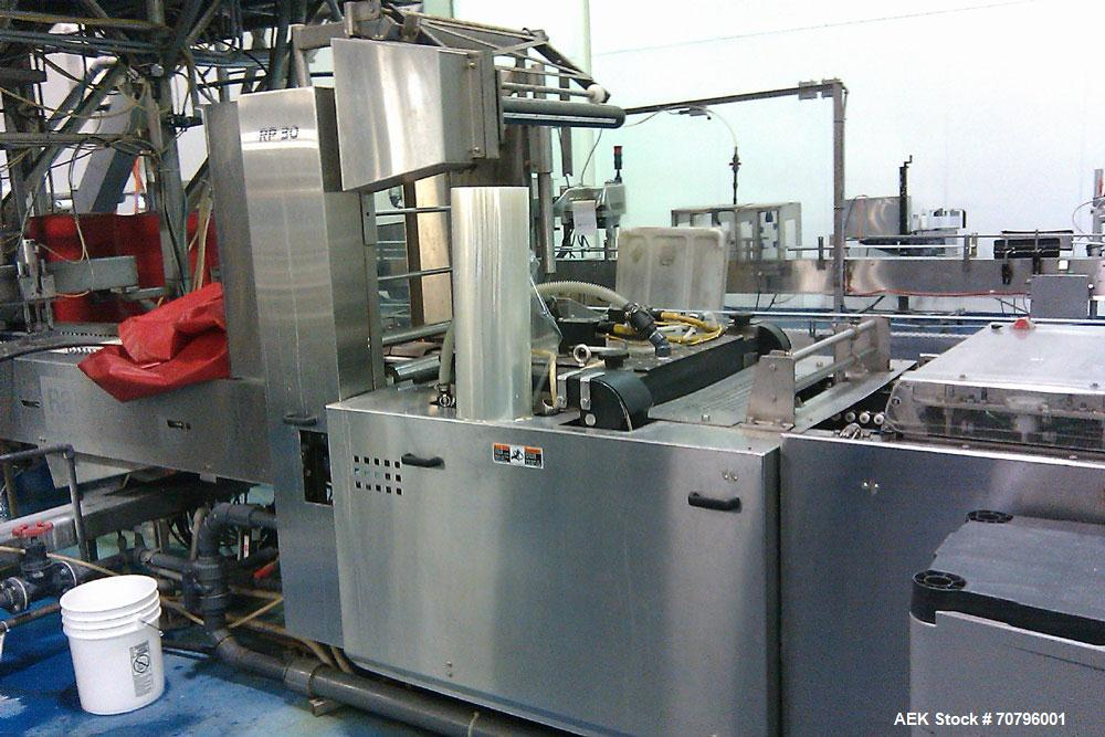 Used RapidPak Model RP-30 horizontal form fill seal thermoformer. Set up for web width of 600mm. 3A dairy standards. The for...