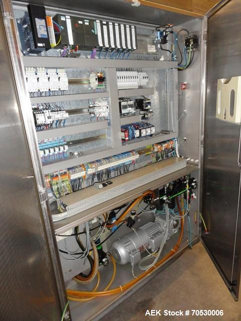 Used-Stainless Steel Tiromat Powerpak 660 Horizontal Thermoformer,
