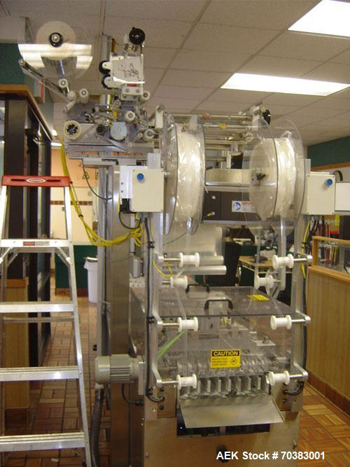 Used-Used: VC999 Roll stock machine is like brand new. It is equipped with a Koch labeler with a hot foil date stamp, hole p...