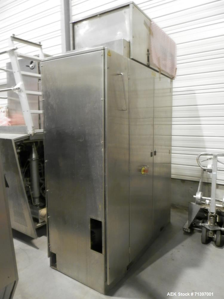 Used- Tetra Pak TBA21 Form Fill and Sealing Line.
